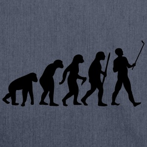 Evolution  Stick T-Shirts - Shoulder Bag made from recycled material