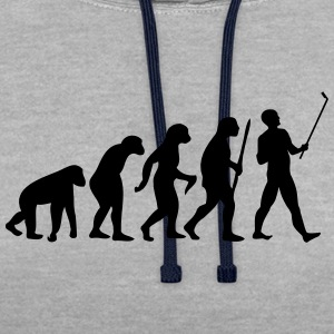 Evolution  Stick T-shirts - Kontrastluvtröja