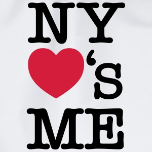 NY (New York) Loves Me T-Shirts - Turnbeutel