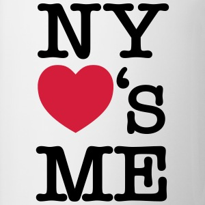 NY (New York) Loves Me Magliette - Tazza