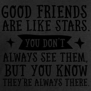 Good Friends Are Like Stars... T-shirts - Sweatshirt herr från Stanley & Stella