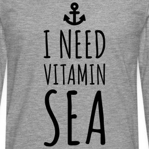 Vitamin Sea  T-Shirts - Men's Premium Longsleeve Shirt