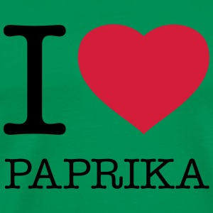 I LOVE PAPRIKA - Men's Premium T-Shirt