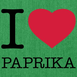 I LOVE PAPRIKA - Shoulder Bag made from recycled material