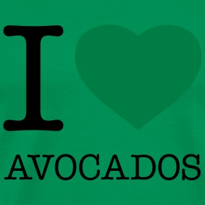 I LOVE AVOCADOS - Men's Premium T-Shirt