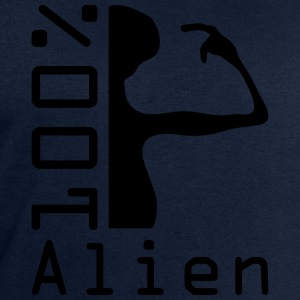 100 pc alien T-Shirts - Men's Sweatshirt by Stanley & Stella