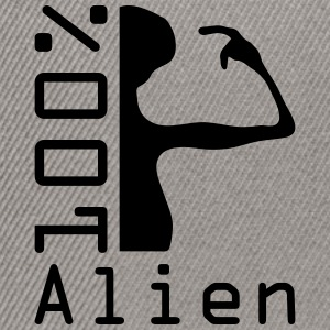 100 pc alien Tee shirts - Casquette snapback