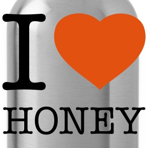I LOVE HONEY - Drikkeflaske