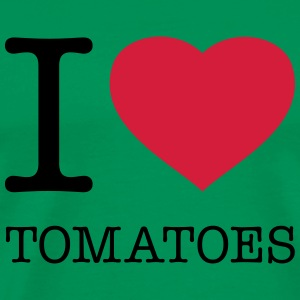 I LOVE TOMATOES - Men's Premium T-Shirt