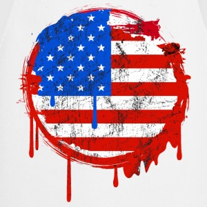 usa grunge flag Tee shirts - Tablier de cuisine