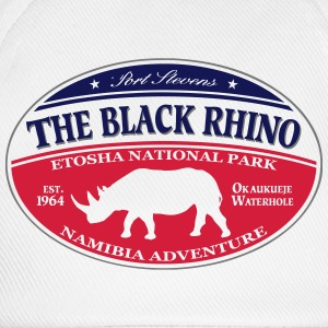 Black Rhino - Namibia Adventure T-Shirts - Baseball Cap