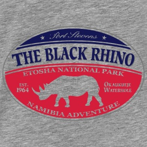 Black Rhino - Namibia Adventure Hoodies & Sweatshirts - Men's Premium T-Shirt