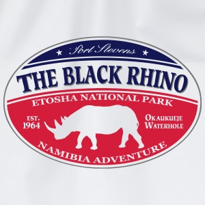 Black Rhino - Namibia Adventure Long Sleeve Shirts - Drawstring Bag