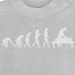 EVOLUTION BURNOUT Langarmshirts - Baby T-Shirt