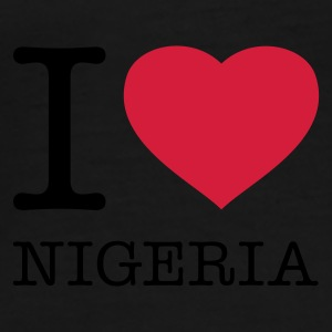 I LOVE NIGERIA - Men's Premium T-Shirt