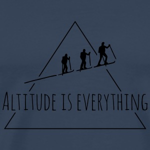 Altitude is everything Kissen - Männer Premium T-Shirt