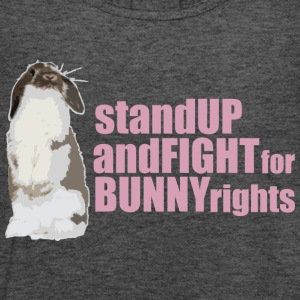 Stand up and fight for bunny rights T-shirts - Tanktopp dam från Bella
