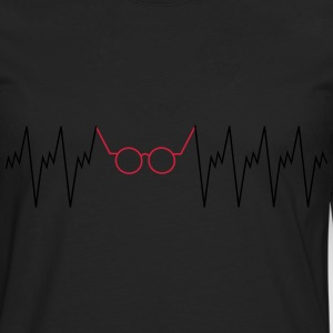 Optician Heartbeat Tee shirts - T-shirt manches longues Premium Homme