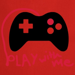 Play with me / Konsole / Gaming / Controller - Kochschürze