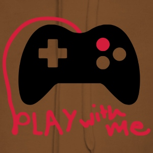 Play with me / Konsole / Gaming / Controller - Frauen Premium Hoodie