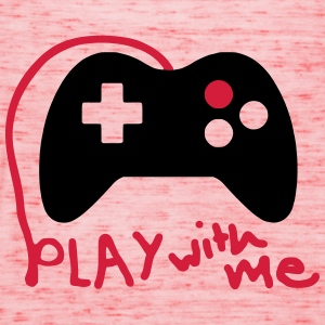 Play with me / Konsole / Gaming / Controller - Frauen Tank Top von Bella