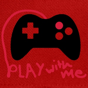 Play with me / Konsole / Gaming / Controller - Snapback Cap