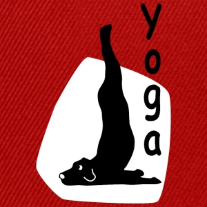 Yoga Dog Looking - Snapback Cap