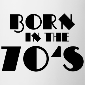 Born in the 70's Tee shirts - Tasse