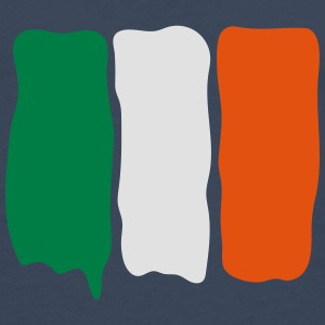 Irish_flag_runny_paint Tee shirts - T-shirt manches longues Premium Homme