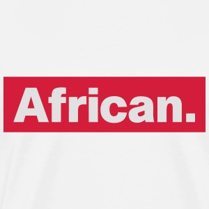 African Toppe - Herre premium T-shirt