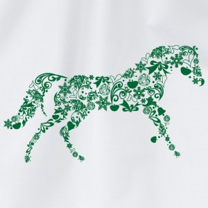 Christmas horse T-Shirts - Drawstring Bag