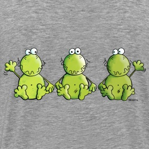 Three Frogs Hoodies & Sweatshirts - Men's Premium T-Shirt