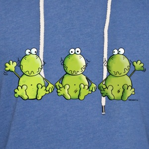 Three Frogs Shirts - Light Unisex Sweatshirt Hoodie