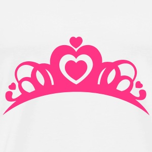 BACHELORETTE BRIDAL CROWN Top - Maglietta Premium da uomo