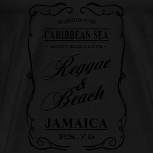 Jamaica - Reggae & Beach Sports wear - Men's Premium T-Shirt