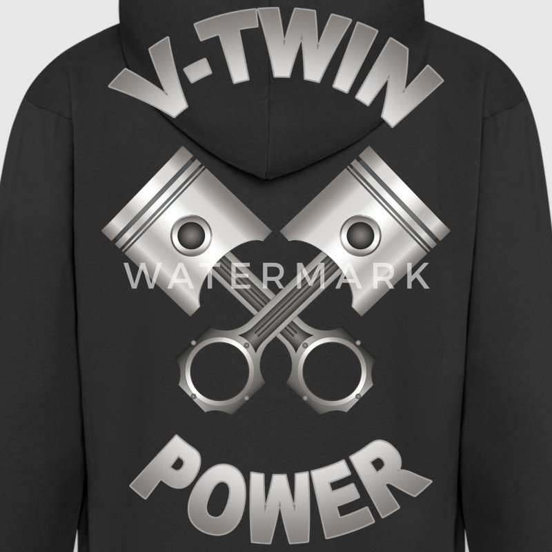 v-twin power 14 Sweat-shirts - Veste à capuche Premium Homme