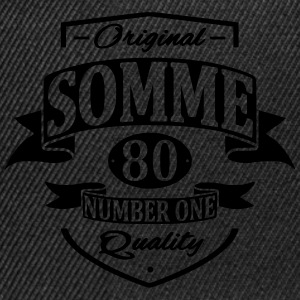 Somme Tee shirts - Casquette snapback