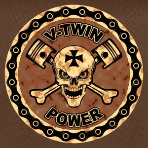 V-twin power 16 Tee shirts - Sac à bandoulière