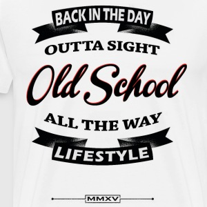 back in the day Long sleeve shirts - Men's Premium T-Shirt