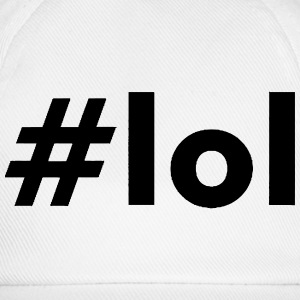 THE LOUD LAUGHING HASHTAG Magliette - Cappello con visiera