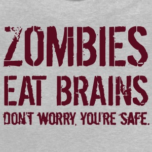 ZOMBIES EAT BRAINS T-shirts - Baby T-shirt