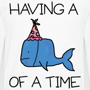 Whale of a Time - Teen tee - Men's Premium Longsleeve Shirt