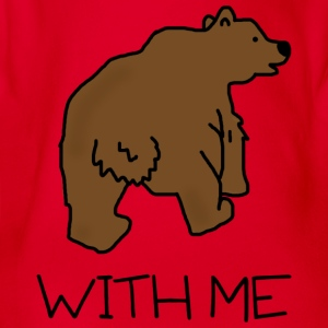 Bear with Me - Kids Tee - Organic Short-sleeved Baby Bodysuit