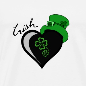 Irish Heart Tank Tops - Men's Premium T-Shirt