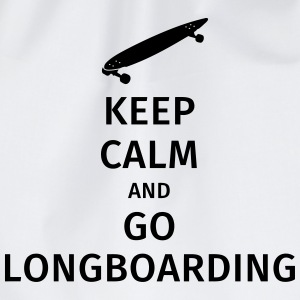 keep calm and go longboaring T-skjorter - Gymbag