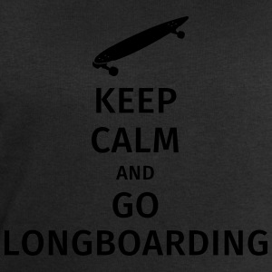 keep calm and go longboaring T-shirts - Mannen sweatshirt van Stanley & Stella
