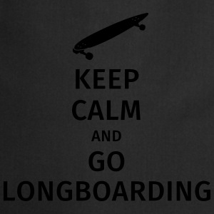 keep calm and go longboaring Koszulki - Fartuch kuchenny
