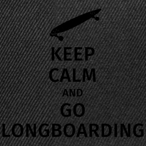 keep calm and go longboaring T-Shirts - Snapback Cap
