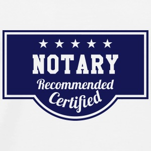 Notary / Notaries / Lawyer / Notaire / Law / Legal Mugs & Drinkware - Men's Premium T-Shirt