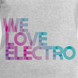 we love electro TOP WOMAN - Men's Sweatshirt by Stanley & Stella